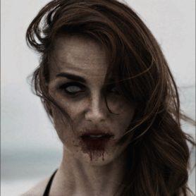 Zombie aus einem Foto